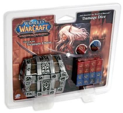 World of Warcraft Treasure Chest & Damage Dice Combo Pack (Upper Deck)