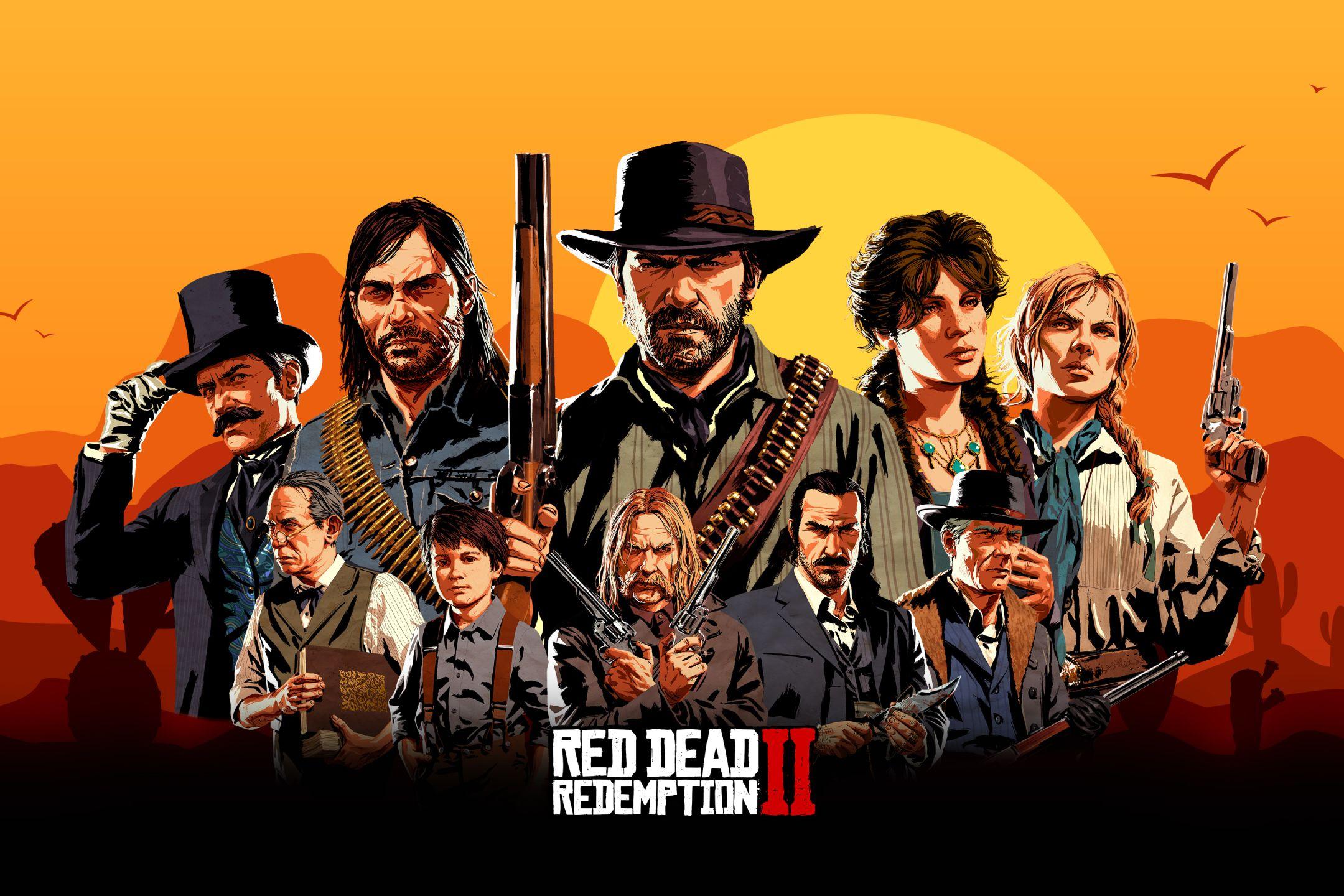 13 Red Dead Redemption Wallpaper Red Dead Redemption Art Red