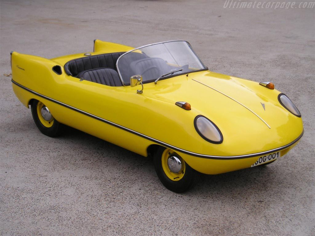 Goggomobile Dart, well it\'s an Aussie body on a German frame, but ...