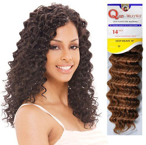 Buy 1 Get 1 Free Milky Way Human Hair Master Mix Weave Que Deep