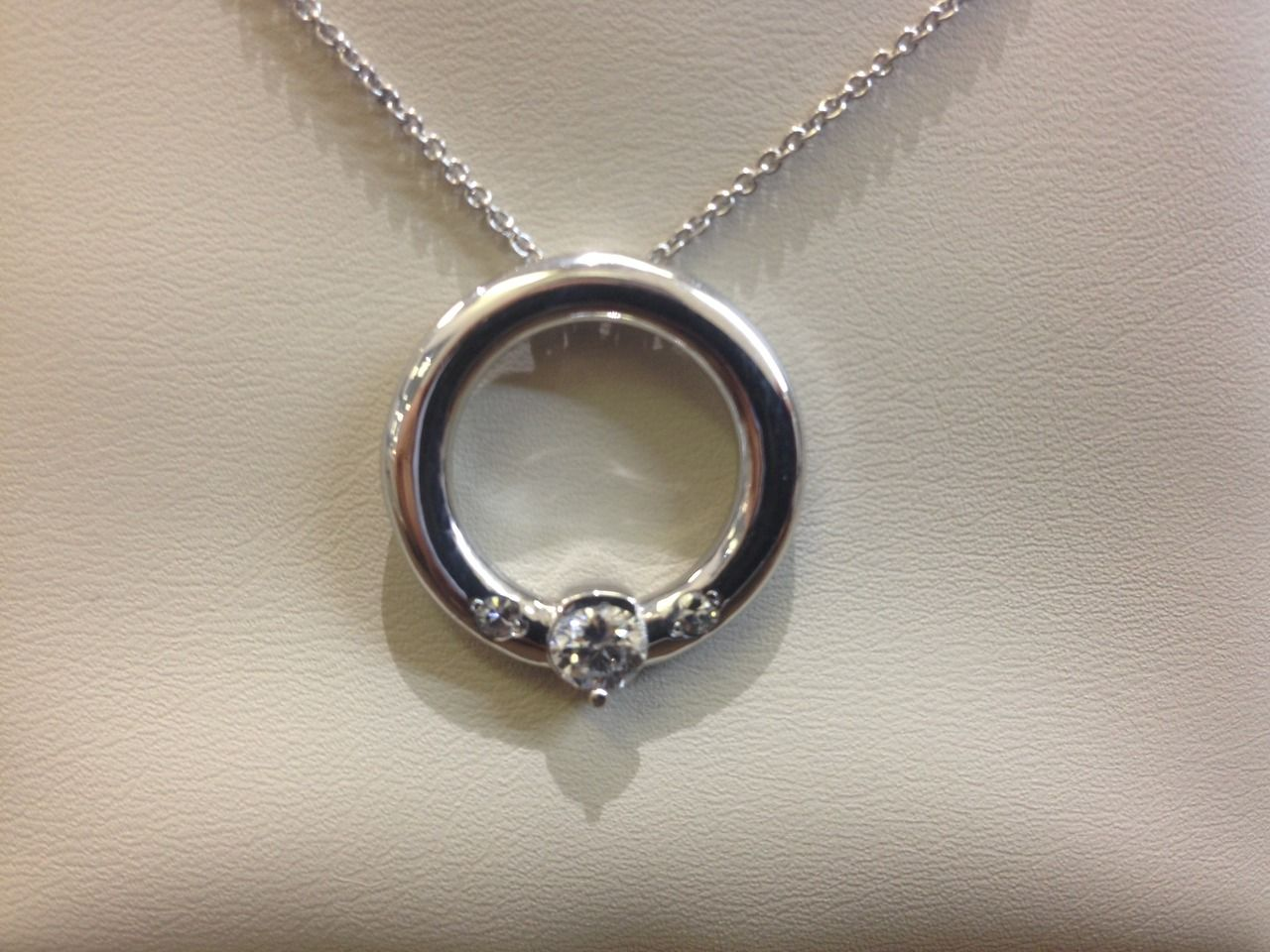 into the jewelry our customer wanted his s ring turned into a necklace 2011