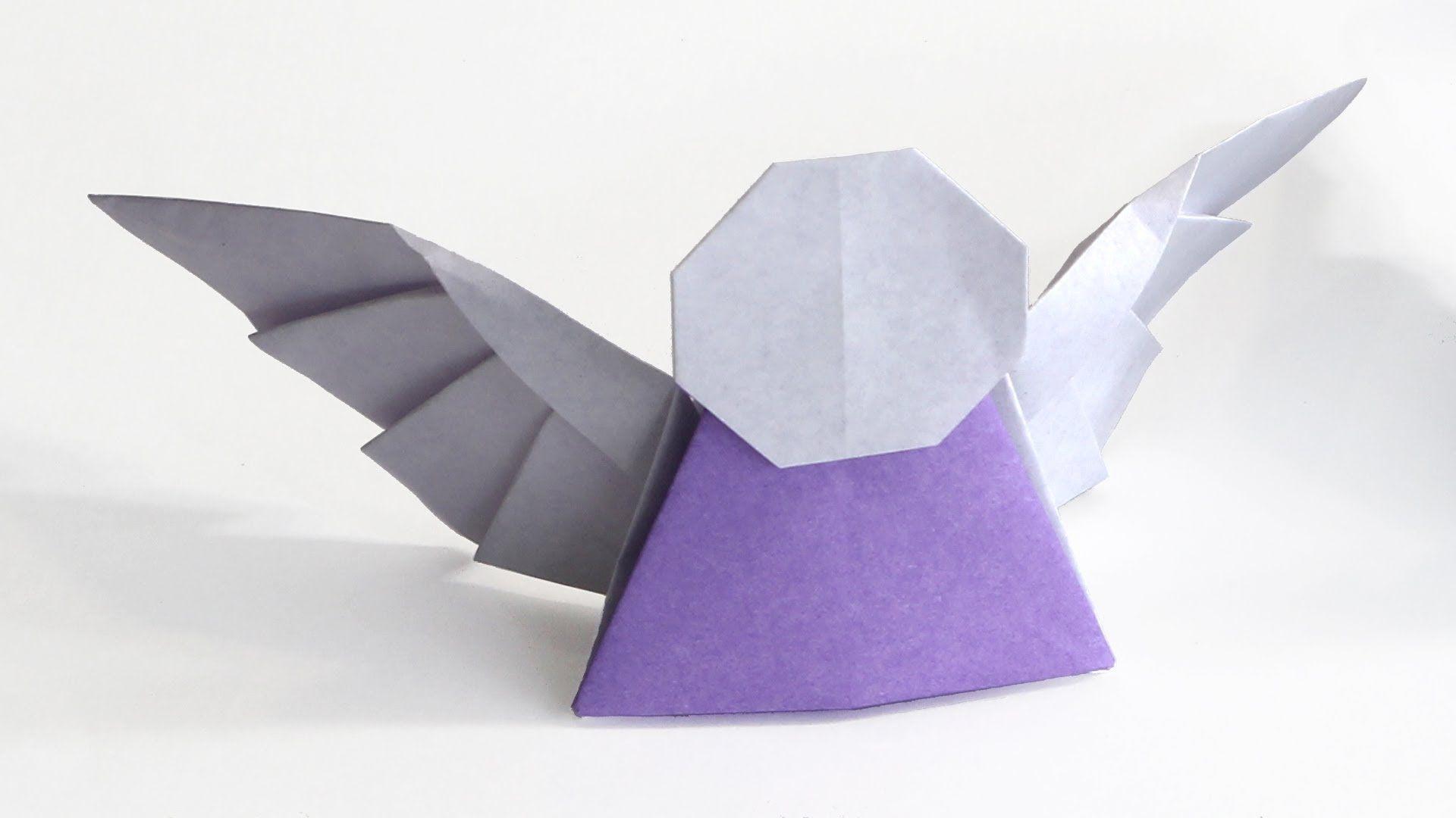 How to make an easy origami Angel (Tadashi Mori) | M's ... - photo#15