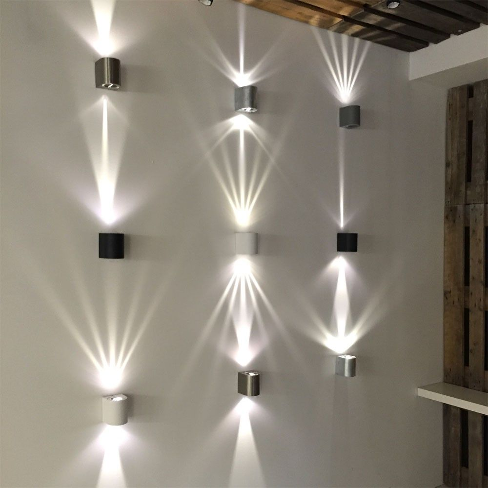 Baleno LED-Wandleuchte für Aussen und Innen Weiß 11167 #weihnachtsdekohauseingangaussen