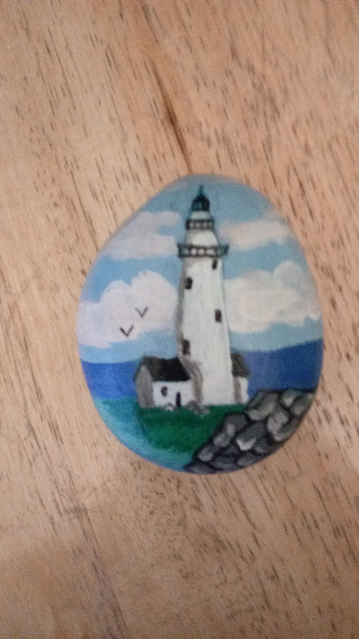 Boston harbor lighthouse hand painted stone for sale on etsy set boston harbor lighthouse hand painted stone for sale on etsy set in stone new sciox Image collections