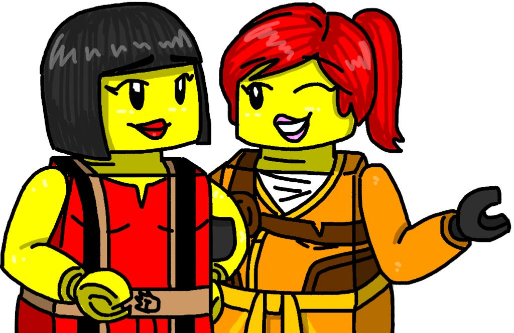 Lego Ninjago Nya N Skylar By Maylovesakidah Deviantart Com