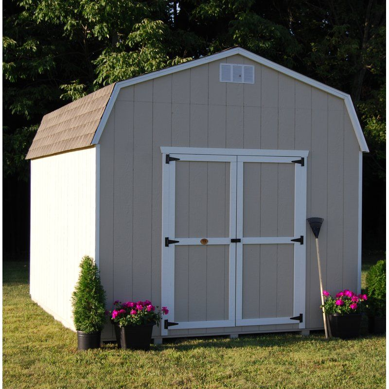 Value Precut Kit 8 Ft W X 16 Ft D Solid And Manufactured Wood Storage Shed Wooden Storage Sheds Building A Shed Wood Storage Sheds