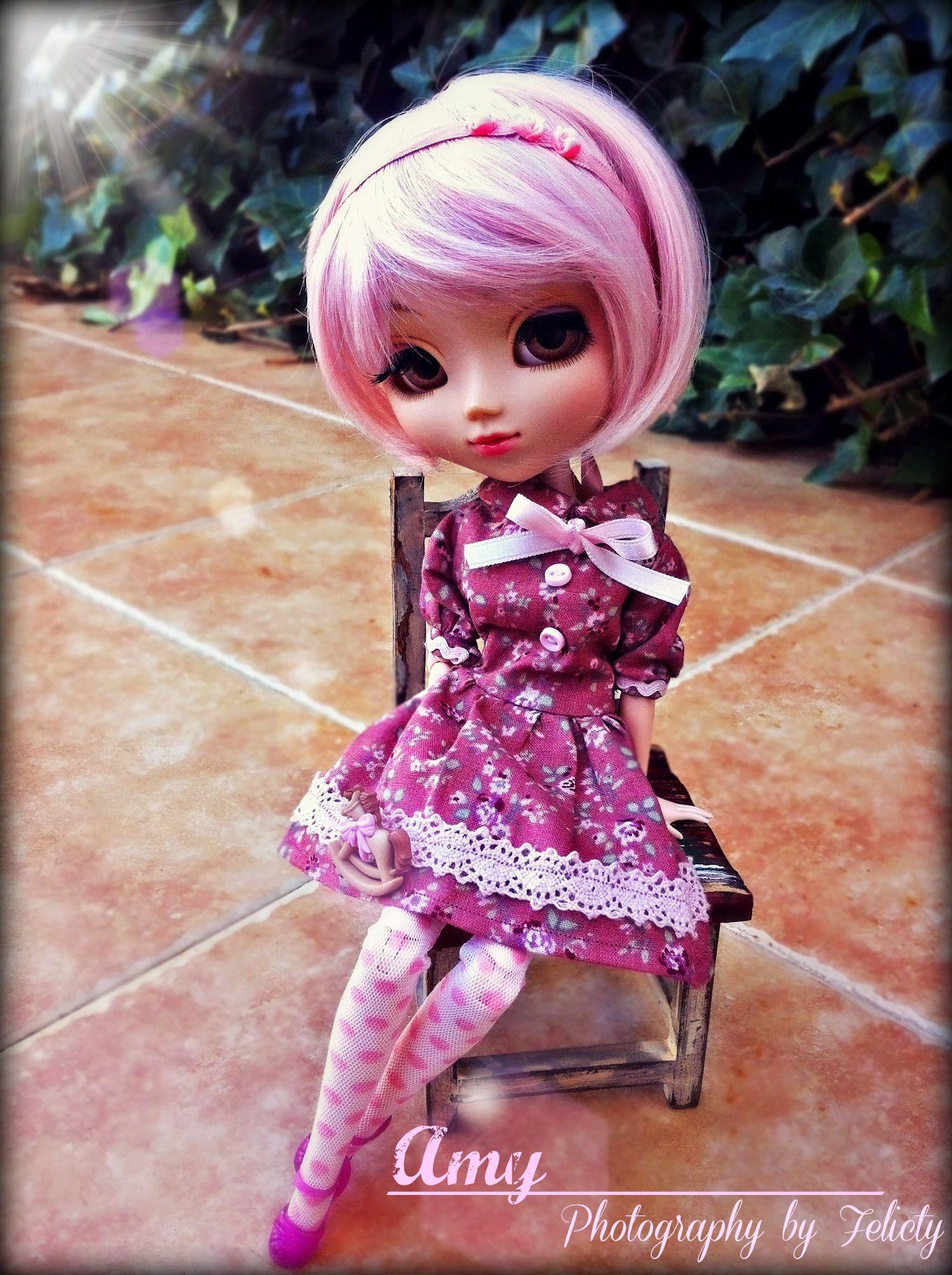 Amy (Pullip Papin) - My first handmade dress