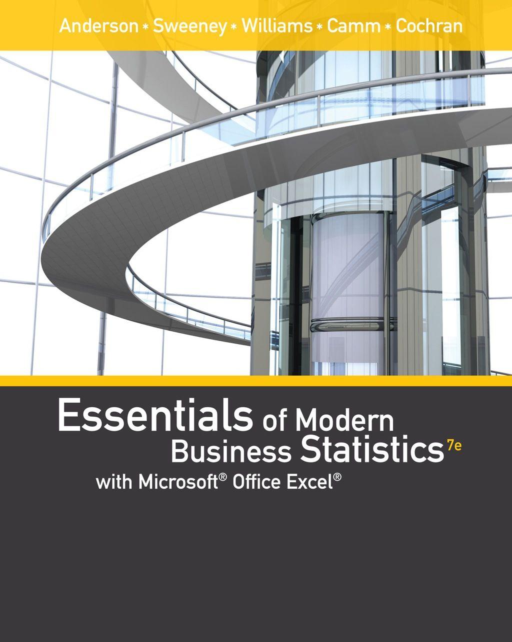 Essentials Of Modern Business Statistics With Microsoft
