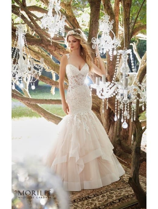 Mori Lee 8118 Marciela Glamourous Mermaid Bridal Gown Ivory