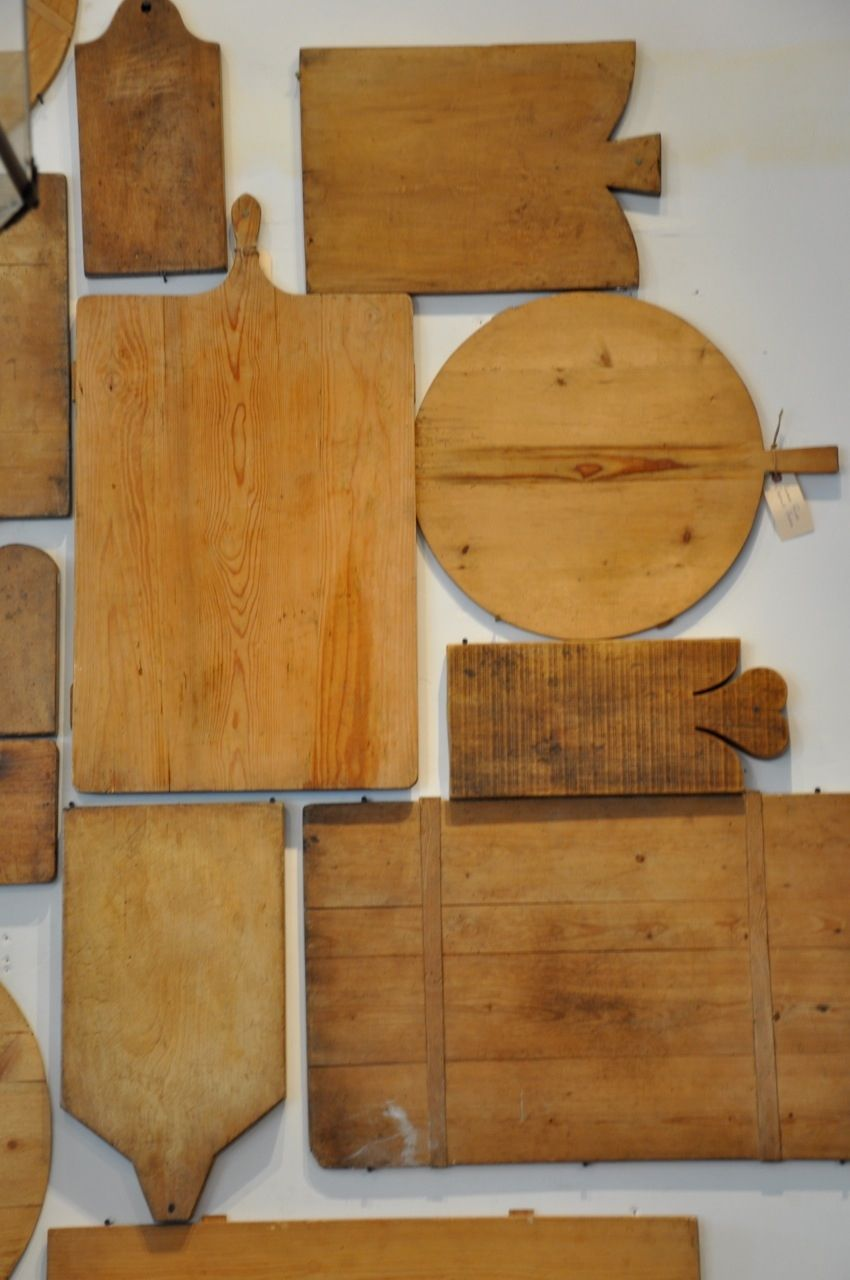 Old cutting boards