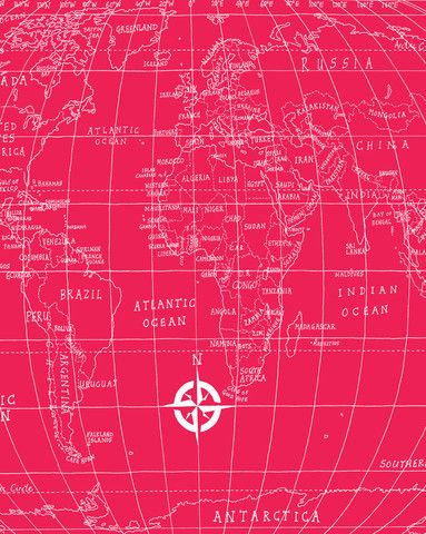 Lagom design gift wrap lagom design packaging wrapping etc world map designed by michael a hill for lagom design gumiabroncs Gallery