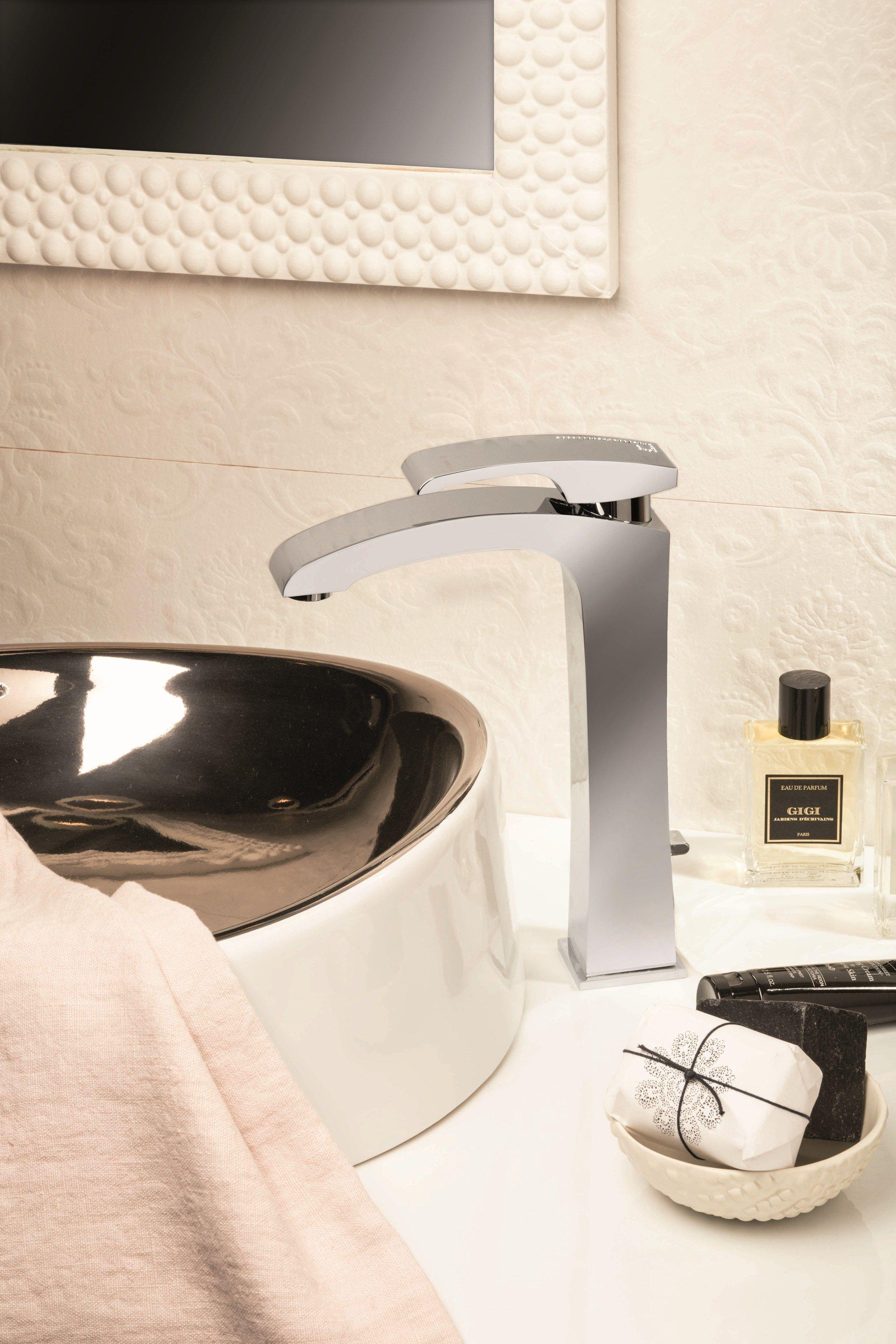 Miscelatore per lavabo monocomando Collezione X-SENSE by #NEWFORM ...