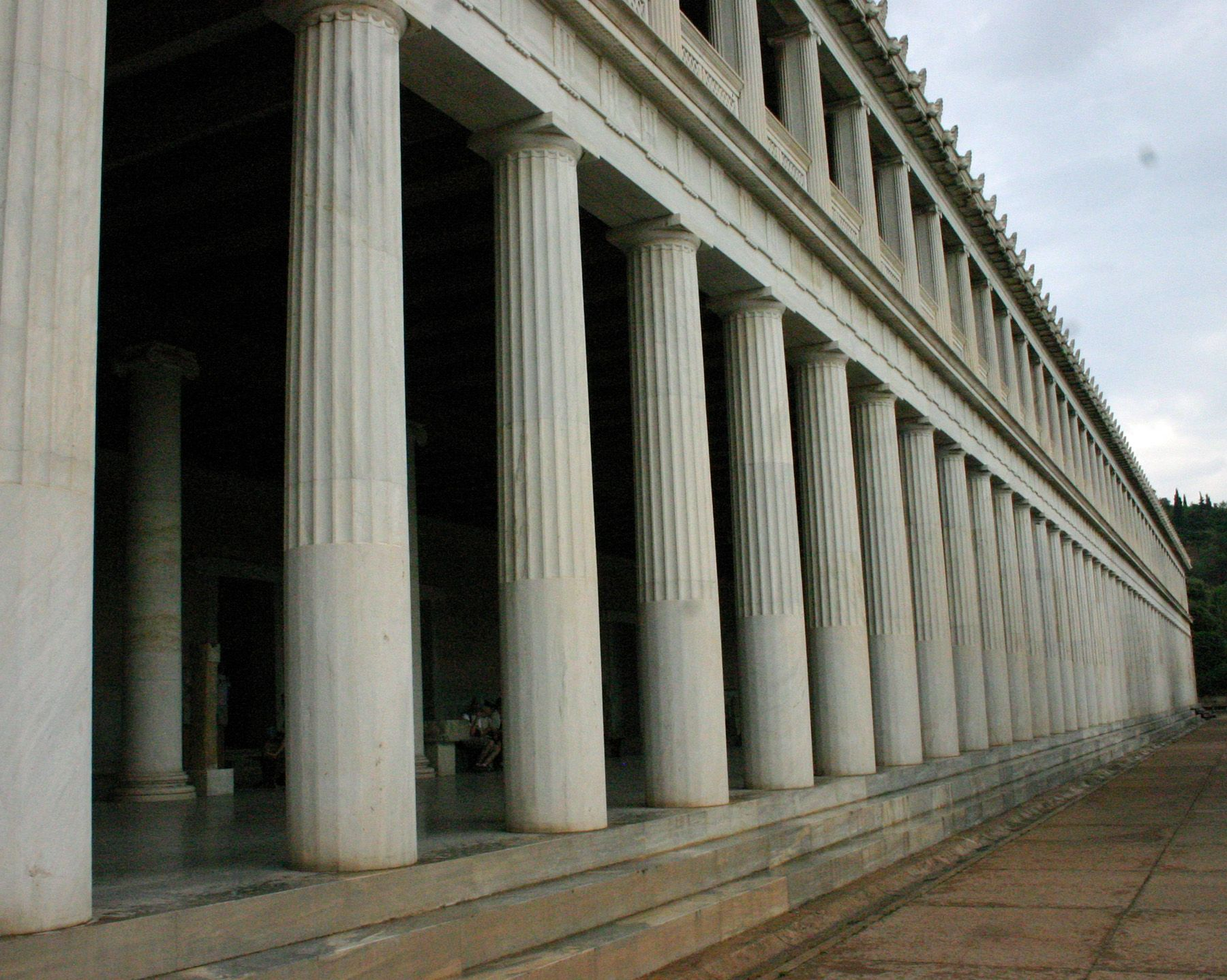 The Stoa Of Attalos At The Ancient Agora Athens Greece 06 10