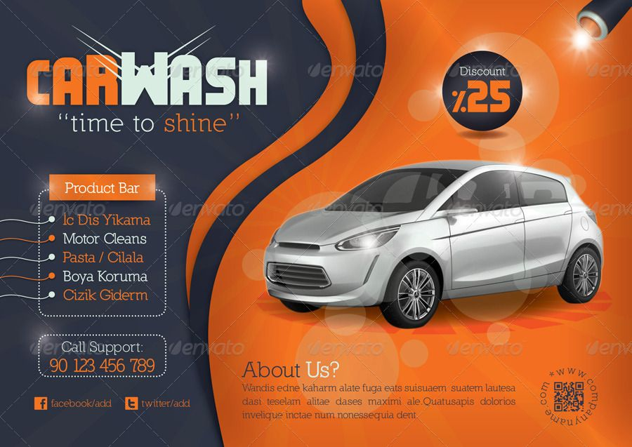 Car Wash Flyer Template – Car Flyers