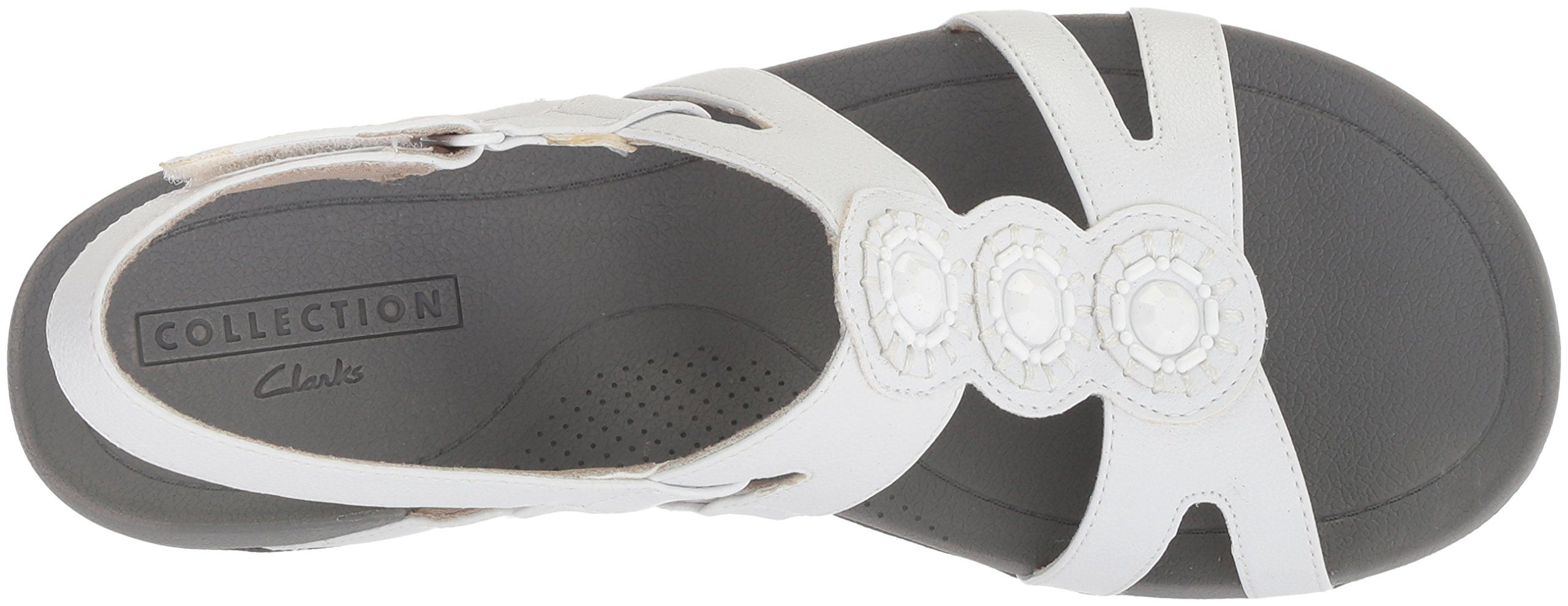 516d9940a6a CLARKS Womens Pical Serino Platform White Synthetic 9 Medium US   To view  further for this item