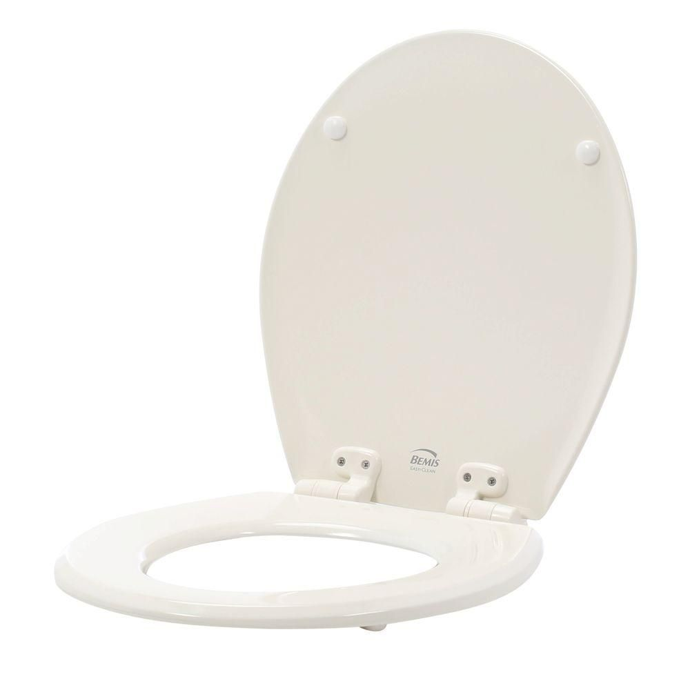 Bemis Slow Close Lift Off Flip Cap Round Closed Front Toilet Seat