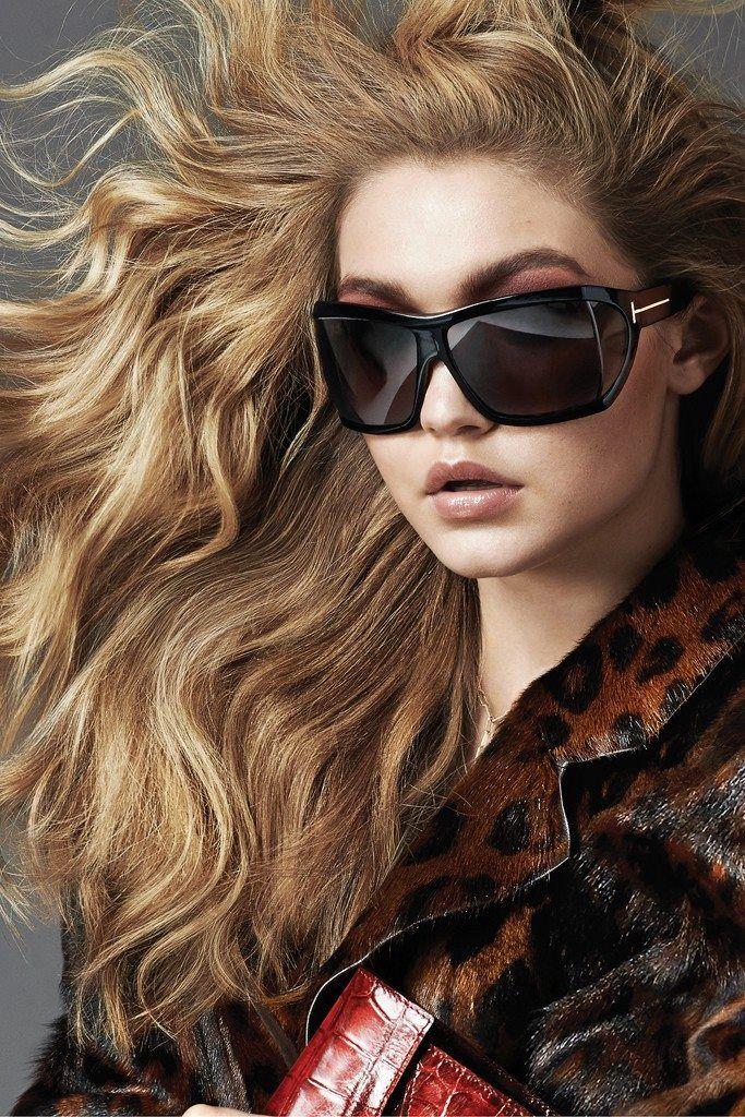 02140cf586 Gigi Hadid for Tom Ford sunglasses ad campaign 2014   2015