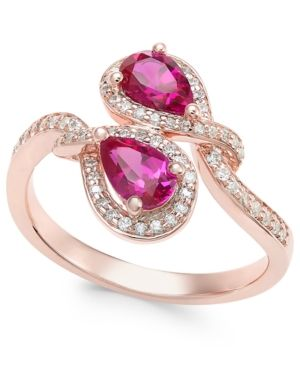 Angara GIA Certified Oval Ruby Butterfly Bypass Ring tRN7WA4My1