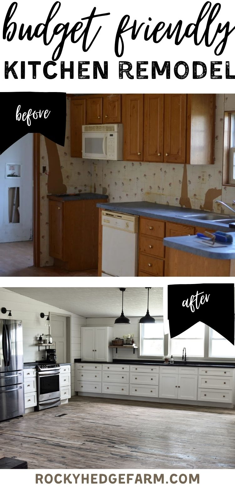 Double Wide Mobile Home Kitchen Cabinets Kitchen Cabinet Remodel Mobile Home Renovations Diy Kitchen Remodel