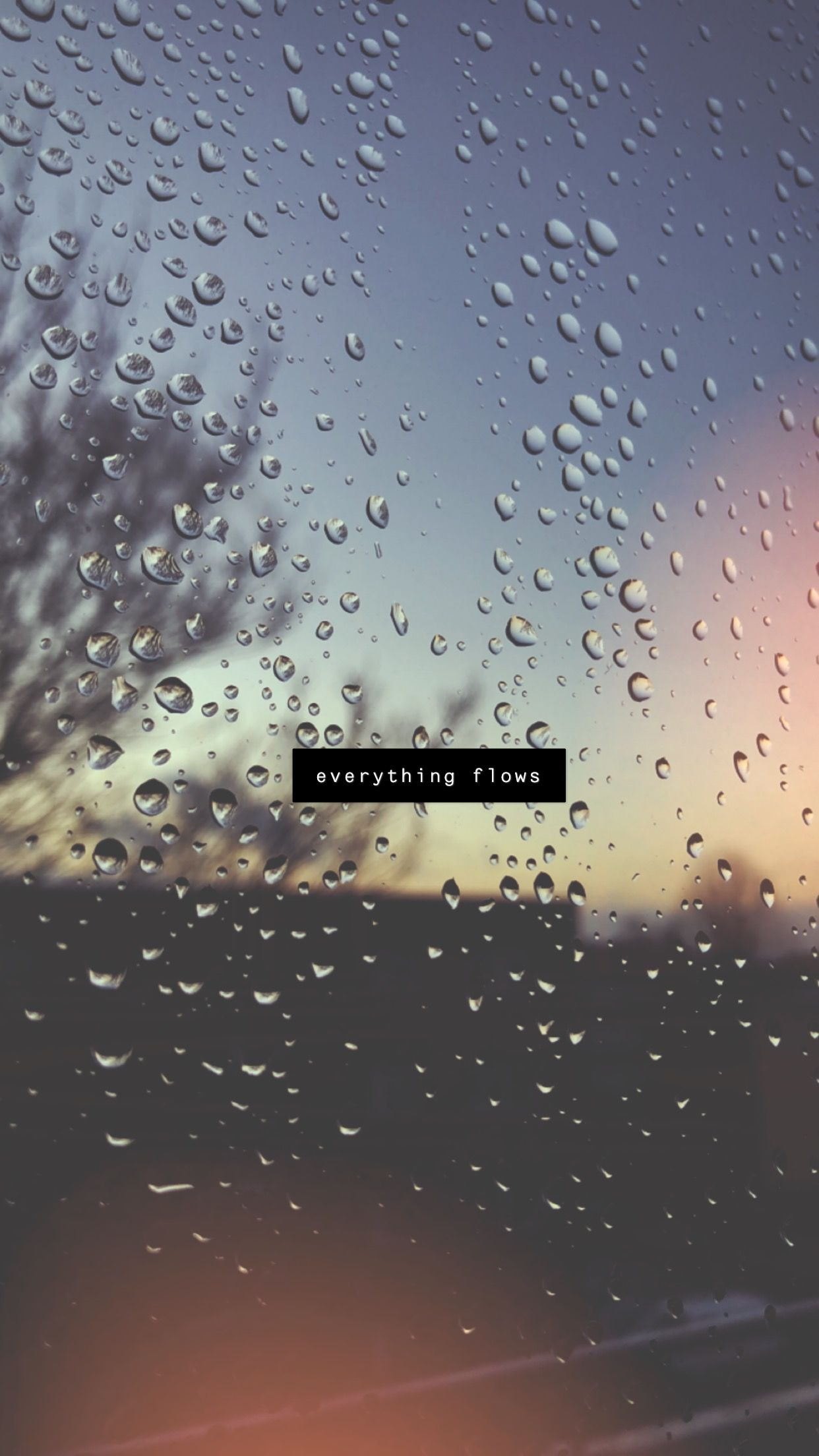 Everything Flows Rainy Day Quotes Rain Quotes Snap Quotes