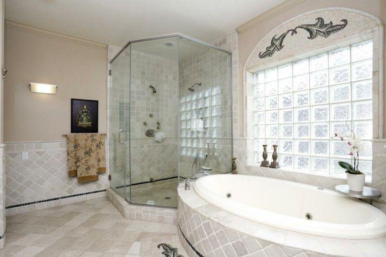 Ba era con ducha 50 variantes de dise o para combinarlas - Baneras para duchas ...