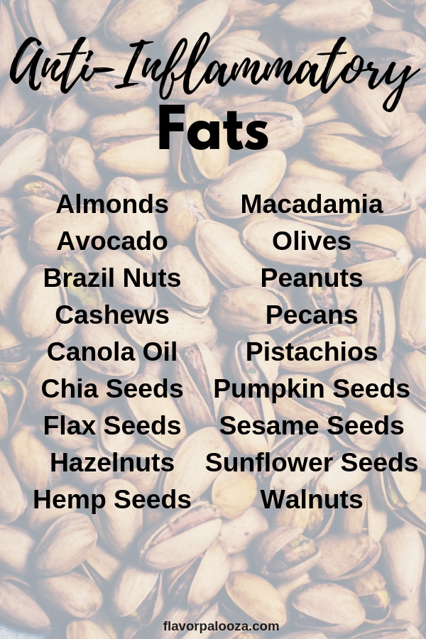 Your Complete Anti-Inflammatory Foods List {Cheat Sheets}