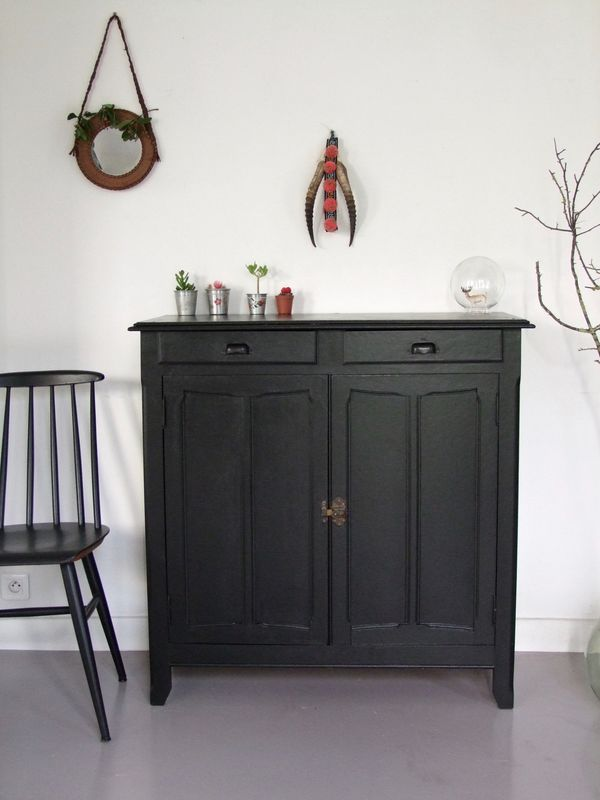 Buffet parisien meuble peint Pinterest Buffet, Armoires and