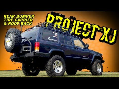 Smittybilt 76851 Xrc Rear Bumper With Tire Carrier For 84 01 Jeep