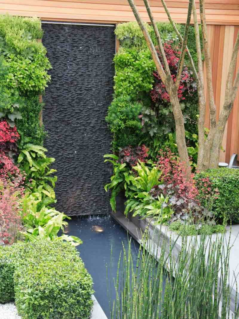 Vertikal Gärten vertikale gaerten wasserfall idee baum teich buchsbaum hecke jpeg