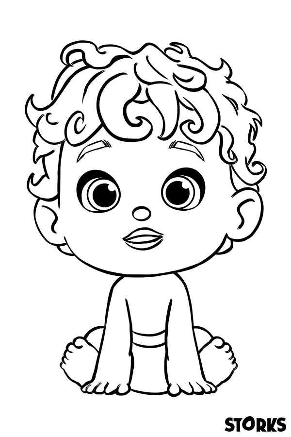 storks coloring pages are here activities in 2018 pinterest