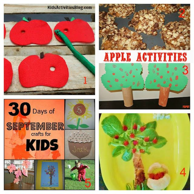 7 apple activities for kids - perfect for Fall