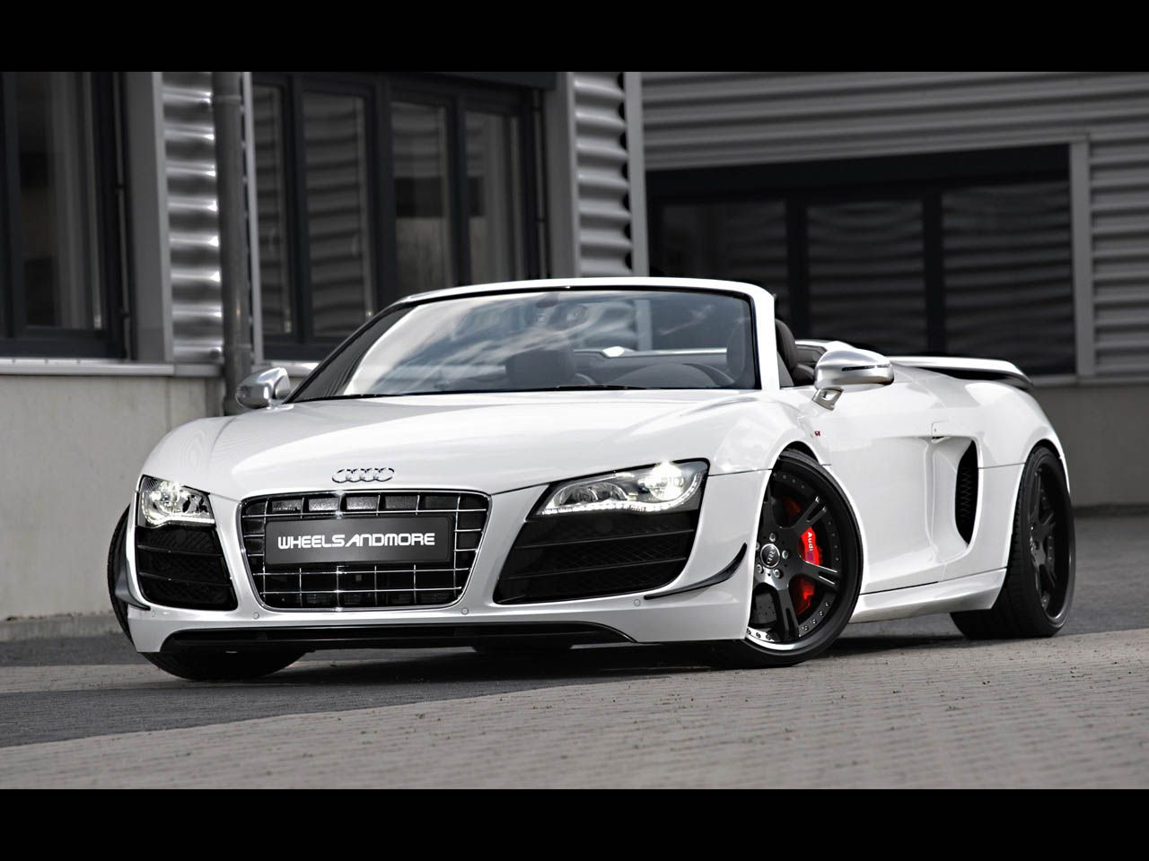 Audi R 8 Spider Convertable R8 Spyder Gt A Convertible Convered With Perfect Uniqueness