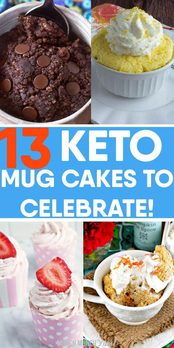 The best KETO MUG CAKE RECIPES! Quick and easy low carb ...