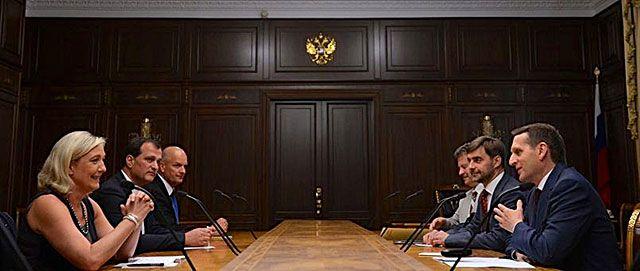 Европейские друзья Путина: Кремль ставит на ультраправых