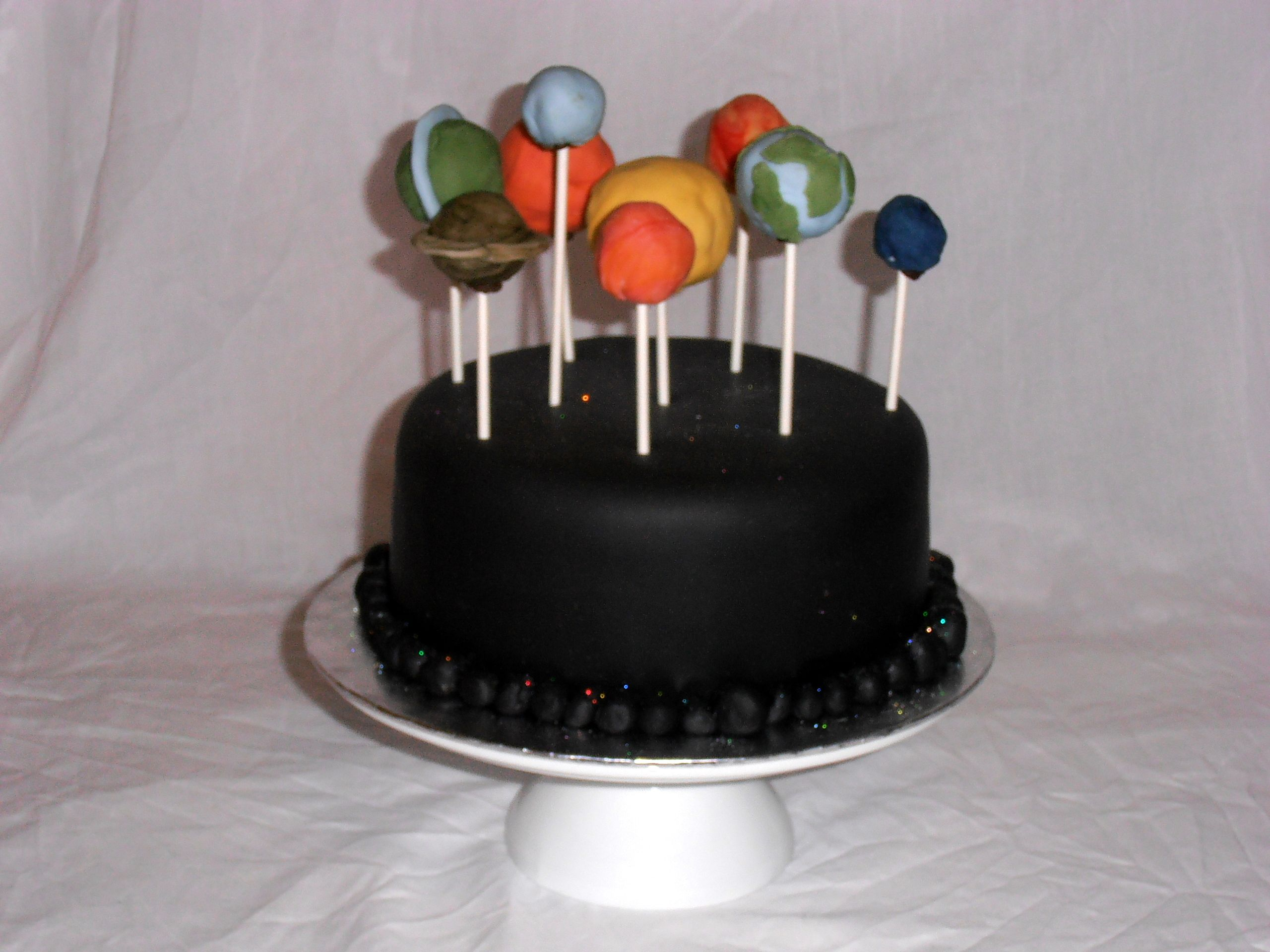 Solar System Cake Space party Solar system cake and Cake