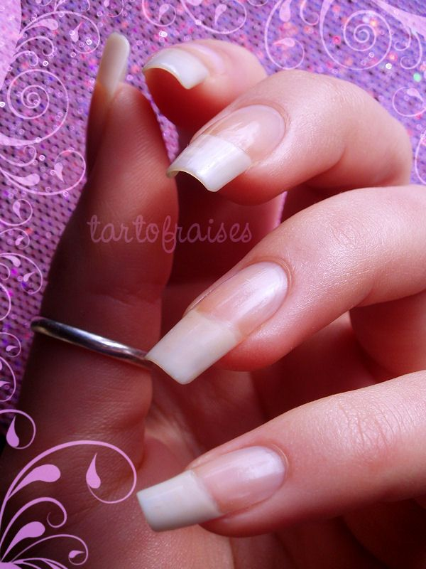 my natural nails by Tartofraises | Long Natural Nails | Pinterest ...