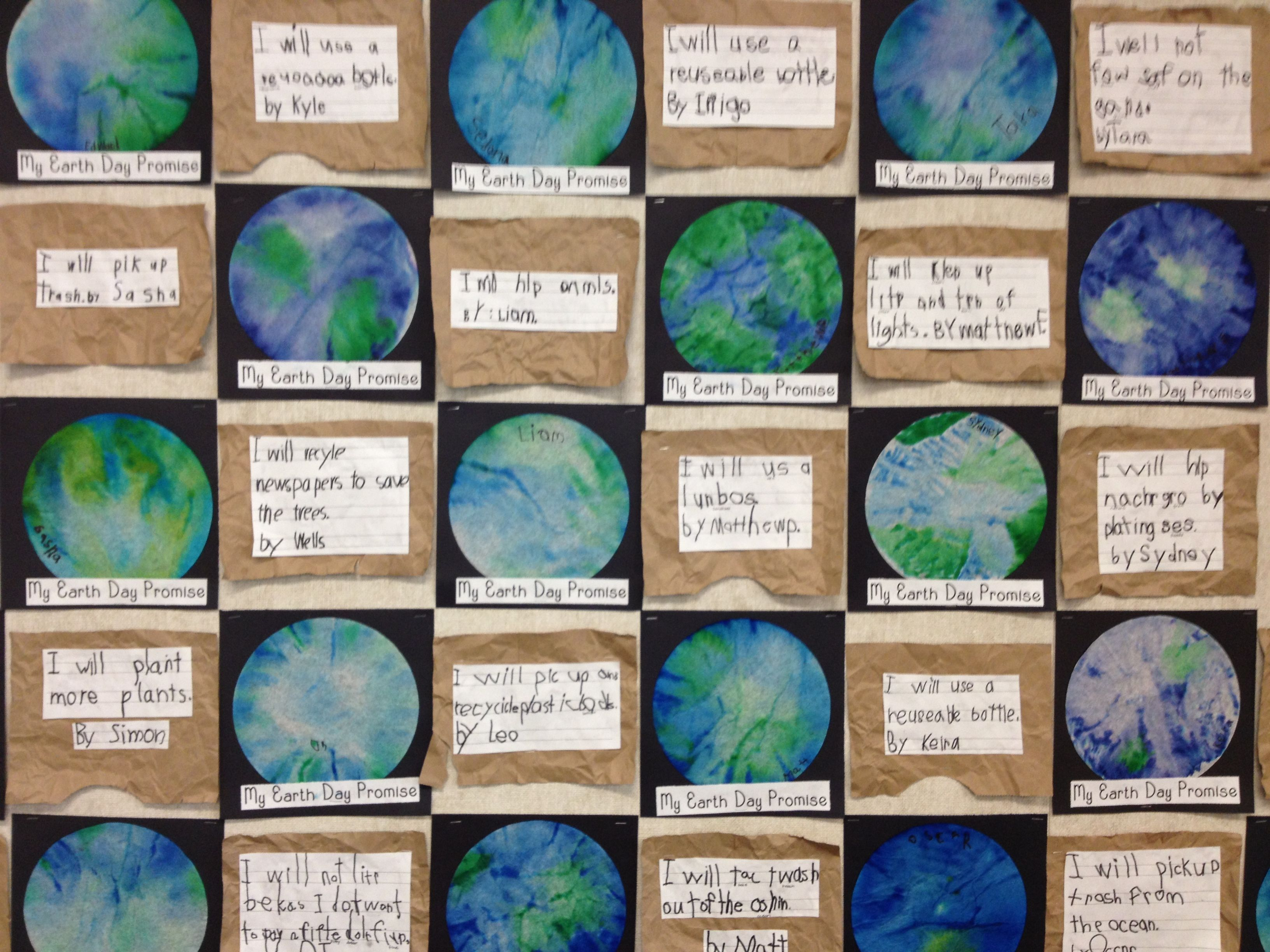 Earth Day Quilt