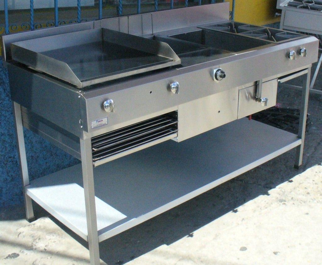 Tecnifrio estufa industrial con ba o maria estufa for Fabrica de cocinas industriales