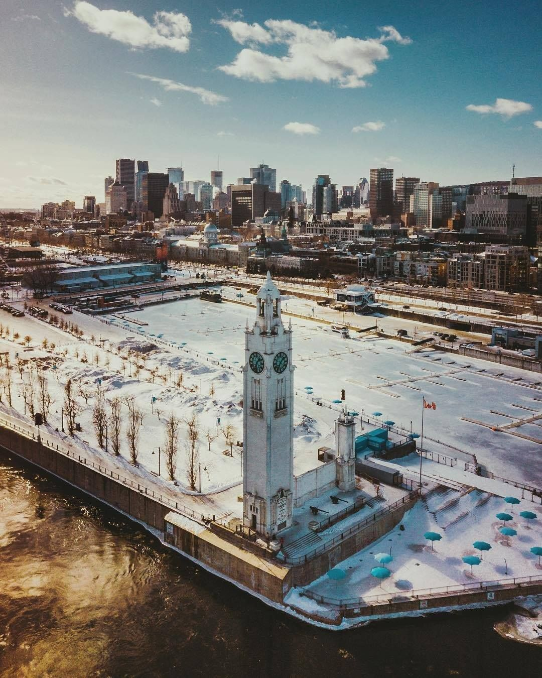 Old Port Of Montreal: The Old Port Of Montréal Waiting For Spring #city #cities