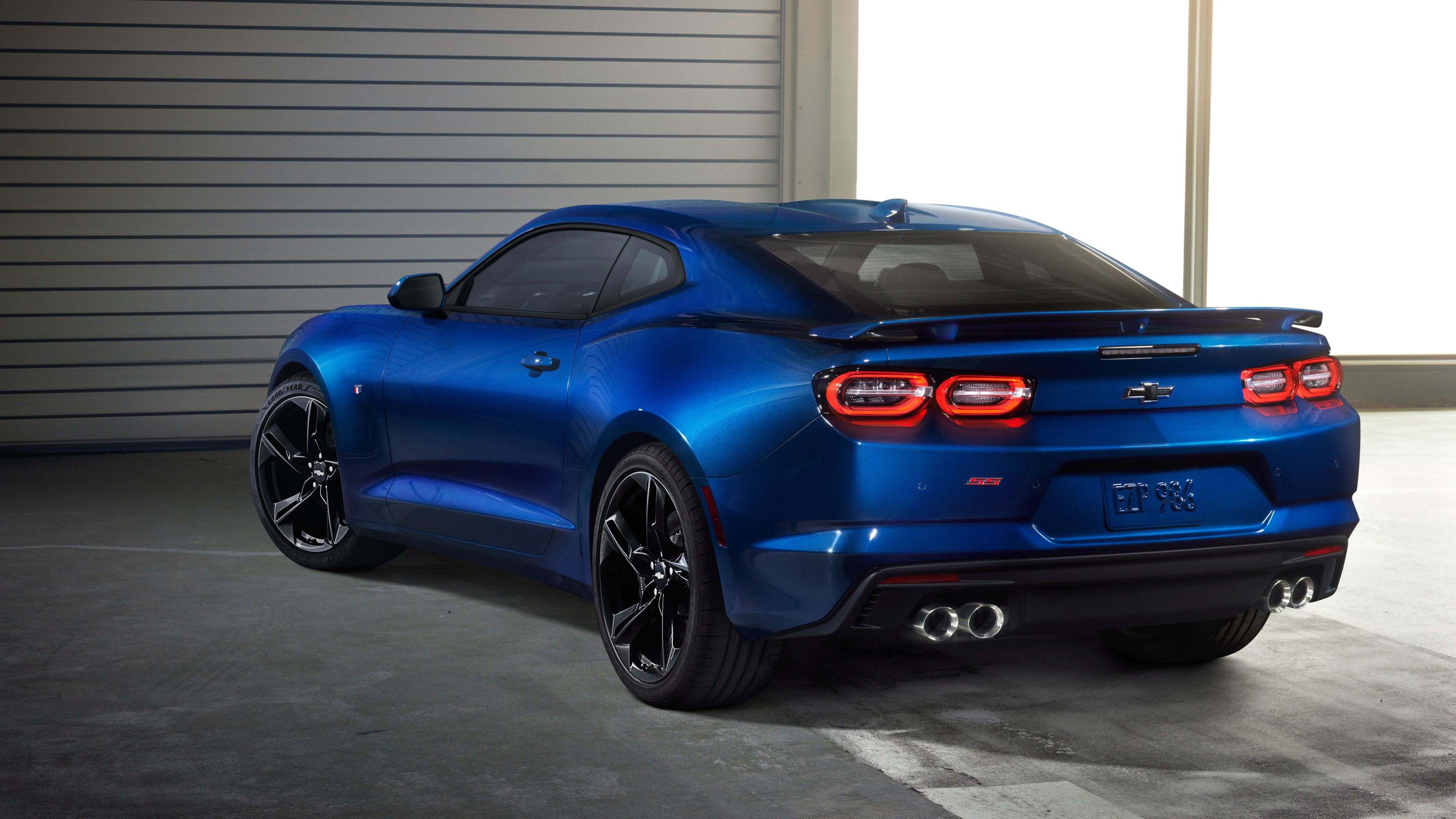 Chevrolet Camaro Ss 2018 Rear Hd Wallpapers Chevrolet Wallpapers