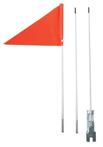 Bike Reflectors Diamondback Safety Flag 6feet Orange Click Image To Review More Details Bicycle Safety Stroller Hacks Kids Bicycle Accessories
