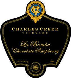 La Bomba Chocolate Raspberry Dessert Wine (1 500ml bottle) get this for  mom.