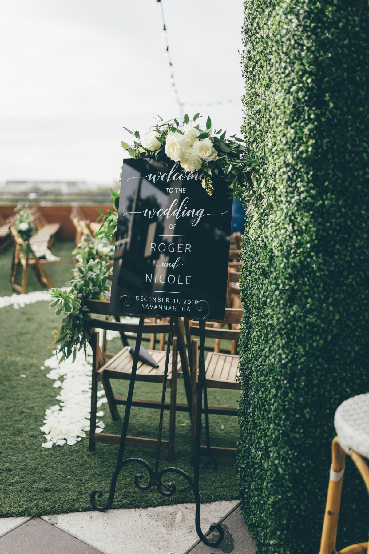 Classic & Natural Wedding Color Board