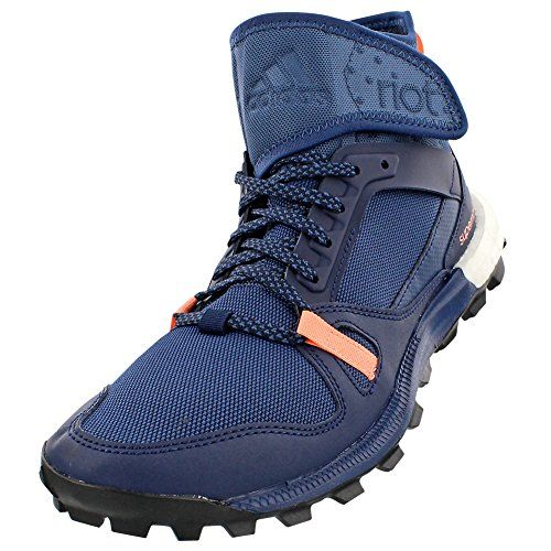 adidas Outdoor Riot Boost Trail Running Shoe  Womens Mineral BlueCol NavySun Glow 55 *** Want to know more, click on the image.(This is an Amazon affiliate link)