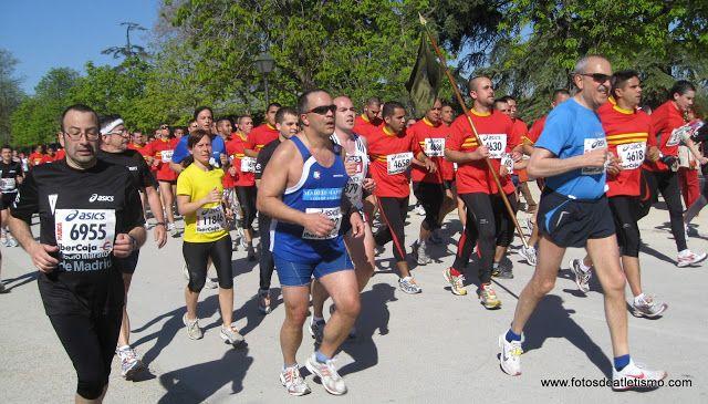 Recuerdos Año 2010 Atletismo 6116 Fotografías X Medio Maratón Villa De Madrid Atletismo Media Maraton Atleta