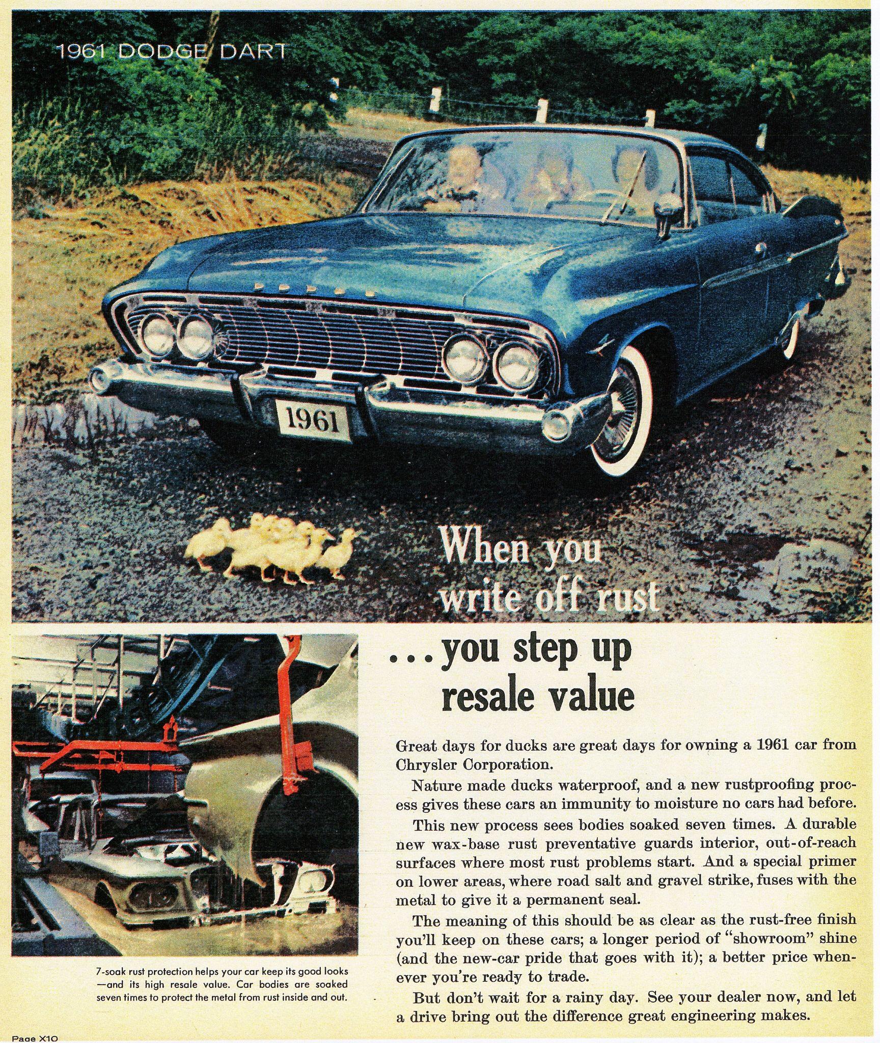 1961 Dodge Dart Phoenix 2-Door Hardtop | Retro Car Ads | Pinterest ...