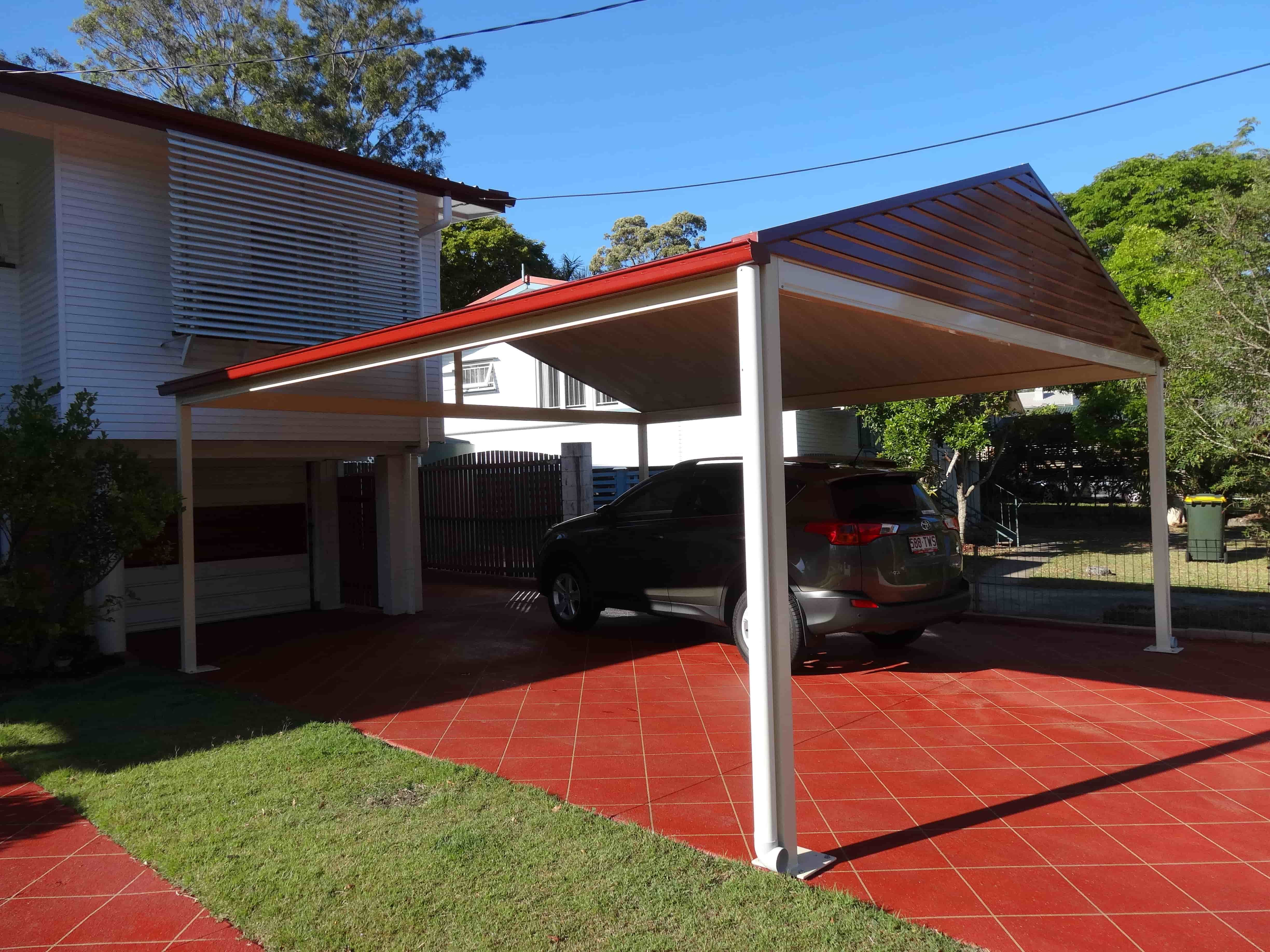 94 Excellent Free Standing Gable Roof Carport
