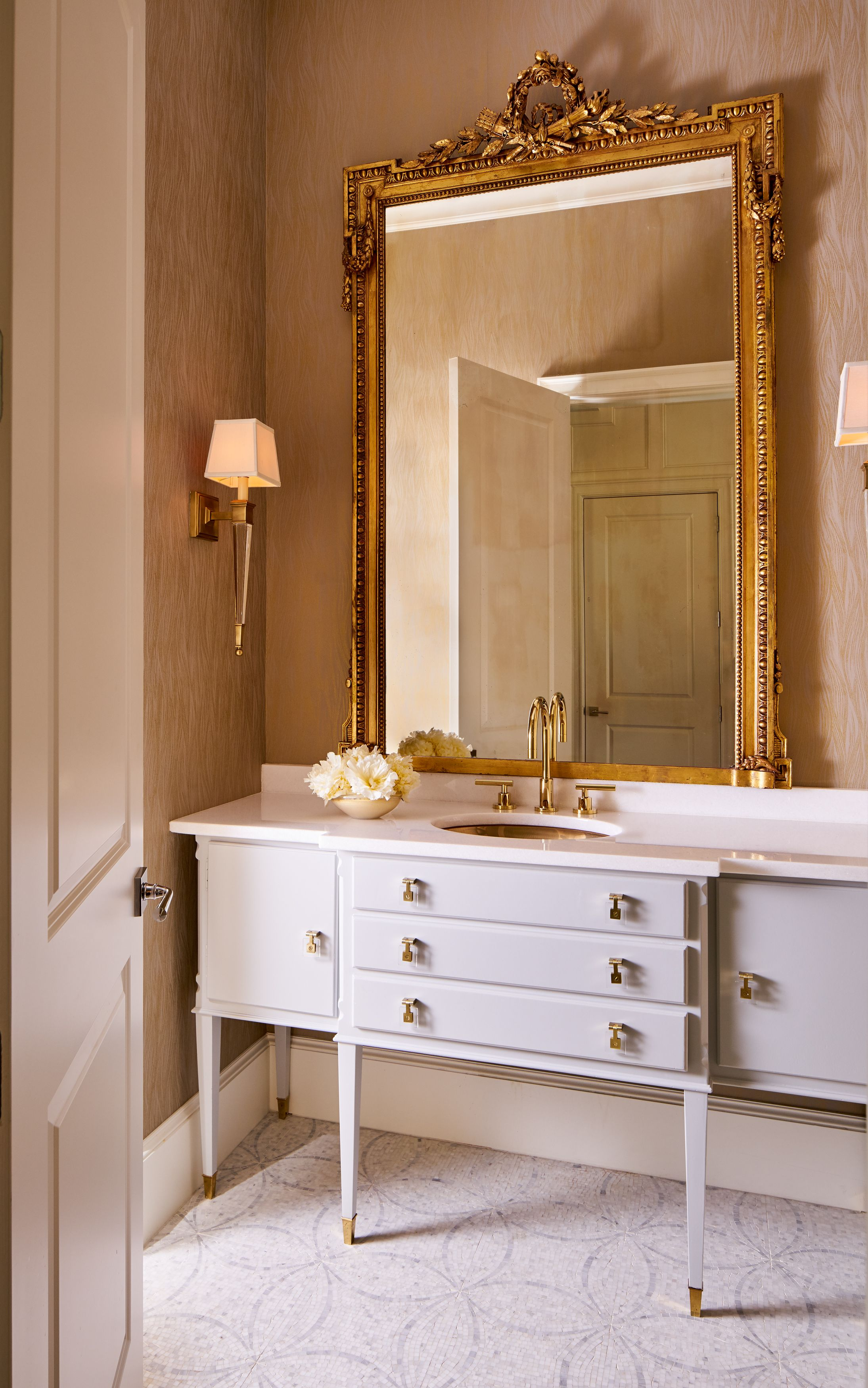 Superb Bathroom Sinks Dallas Part - 9: Designed By Denise McGaha Interiors. Photographed By Stephen Karlisch. # Dallas #interiordesign # · Bathroom SinksDallasTexasMirrorsVanity ...
