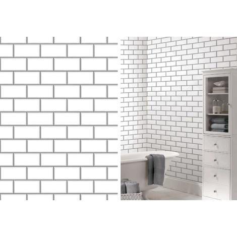 Wallpaper Brick Effect Wallpaper Wallpaper Subway Tile