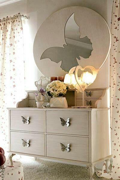 butterfly dresser Dream Home Ideas Pinterest Dresser